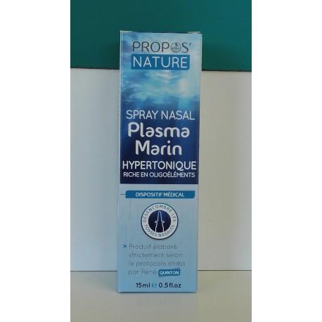 Spray nasal plasma marin