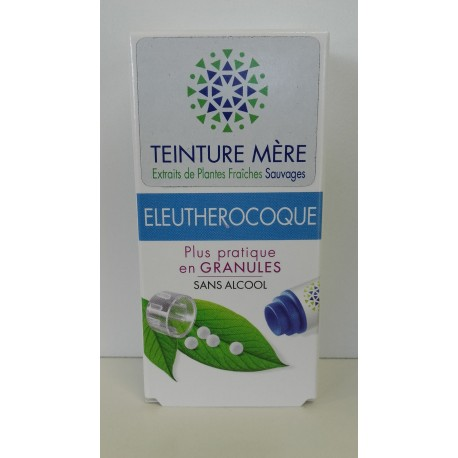 Eleutherocoque extrait de plantes fraîches Bio