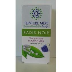 Radis noir extrait de plantes fraîches Bio