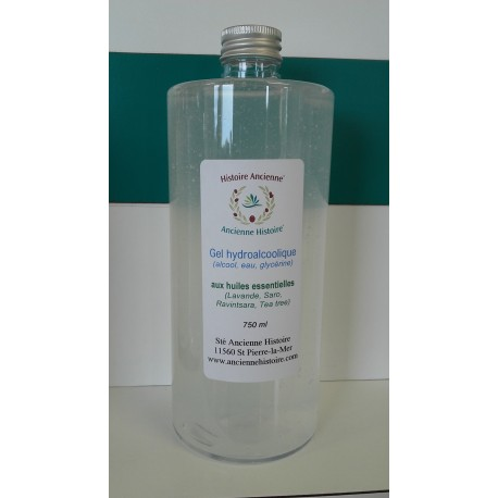 Gel hydroalcoolique Huiles essentielles
