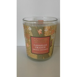 Cannelle Orange bougie 75g